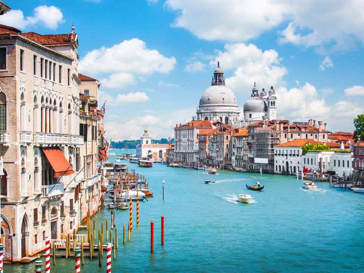 23. The Italian city of Venice is built on more than 100 small islands on a lagoon in the Adriatic Sea. Locals and tourists alike can enjoy its waterfront dining establishments, luxury shopping options, variety of Renaissance artworks, and the famous Carnival festival.