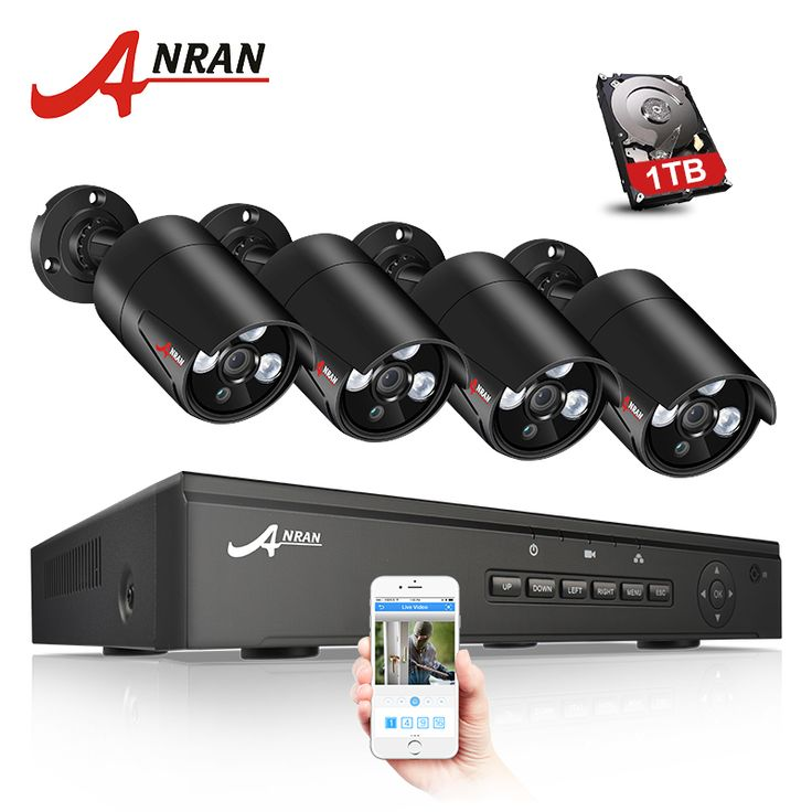 Anran 1080p Ip Poe Security Camera System Anran Security