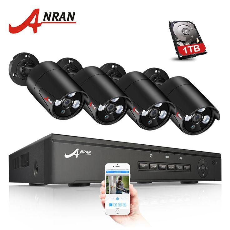 Anran 1080p Ip Poe Security Camera System Anran Security
