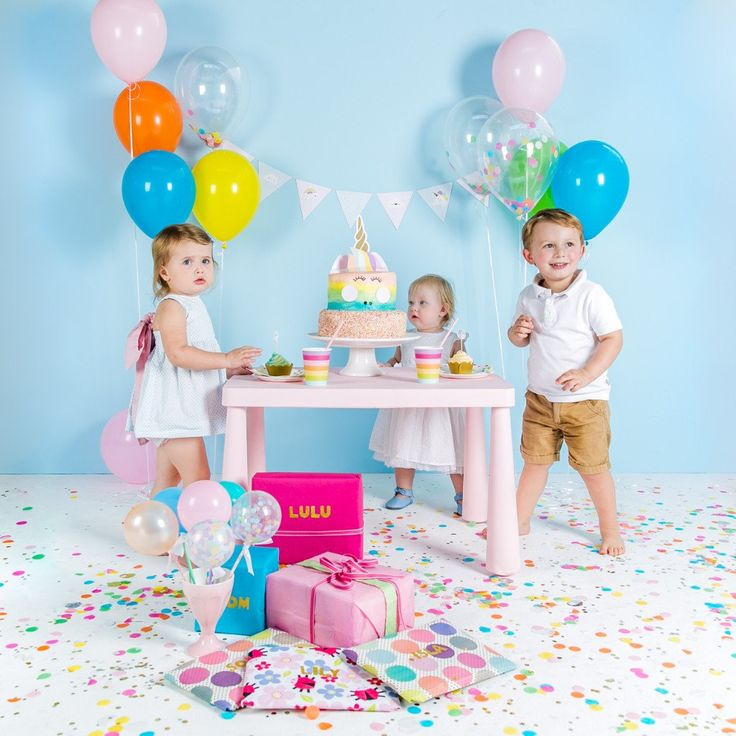 Rainbow Mix Party Balloons – Lucky Lulu Party Shop