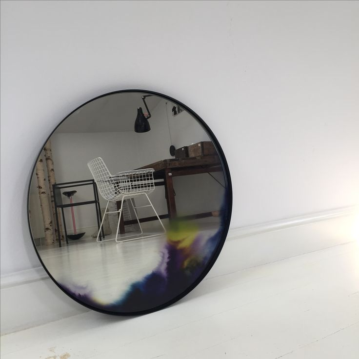 Anda Roman design store presenting Francis mirror , by Constance Guisset, for Petit Friture.
