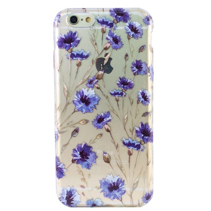 Clear Blue Fields iPhone 6 Case