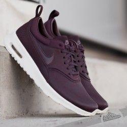 Nike Wmns Air Max Thea Premium Mahogany/ Mahogany- Team Red- Sl