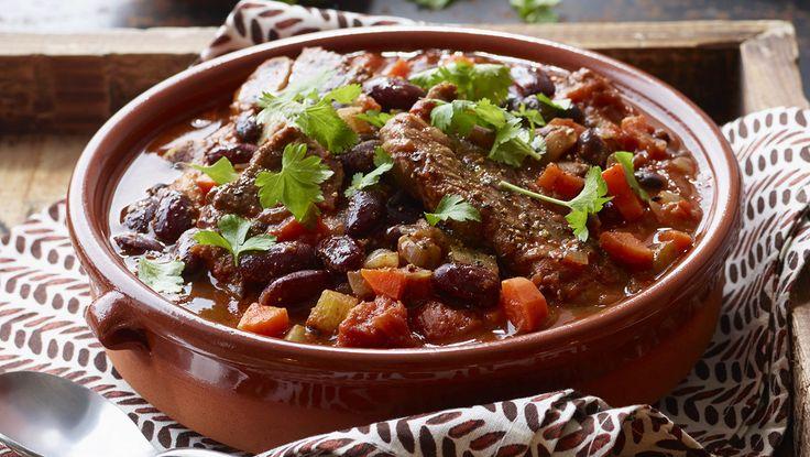 Slow Cooker Beef Short Rib Chili