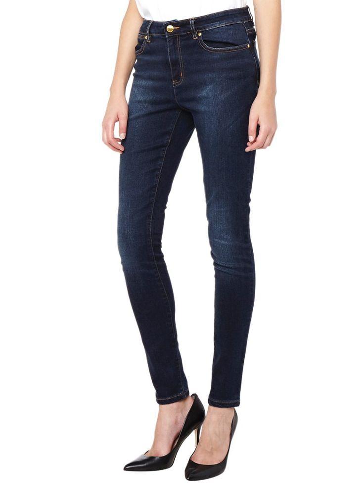 Op zoek naar Michael Kors Selma high rise skinny jeans met donkere wassing ? Ma t/m za voor 22.00 uur besteld, morgen in huis door PostNL.Gratis retourneren.