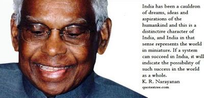 K. R. Narayanan Quotes - Quotes and Speeches by Citizen President of India