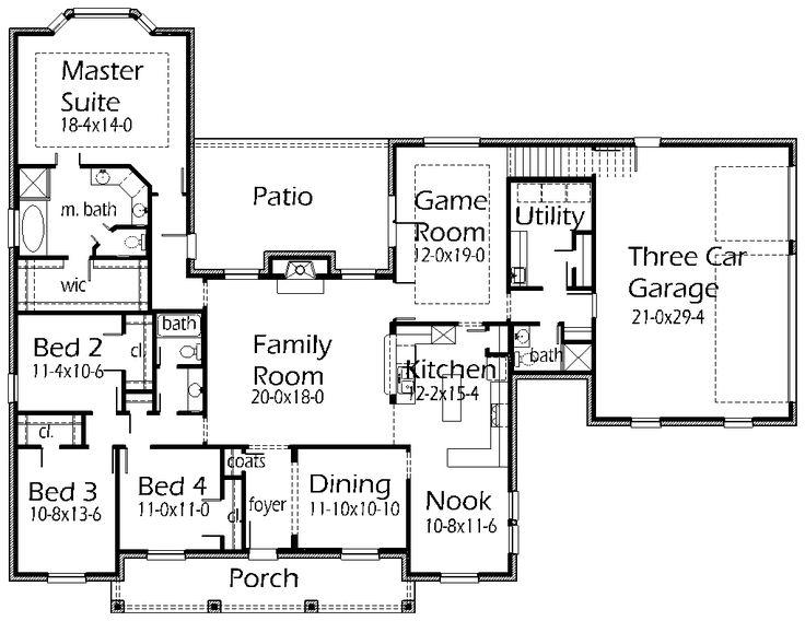824 Best House Plans Images On Pinterest Floor Plans Home Plans