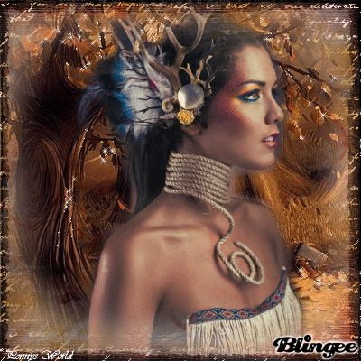 native American Indian, woman