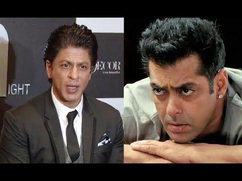 Shahrukh Khan's reaction on Salman Khan's RAPED WOMAN remark.
