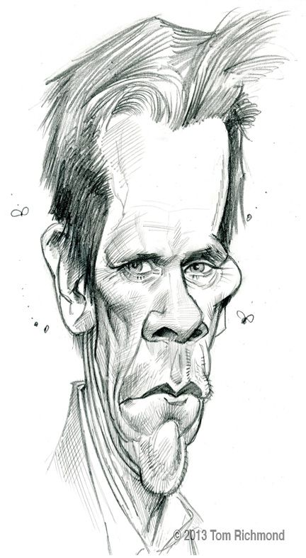 Kevin Bacon @ 2013 Tom Richmond