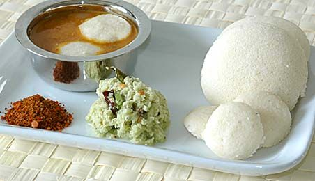 Idli from Southern India
