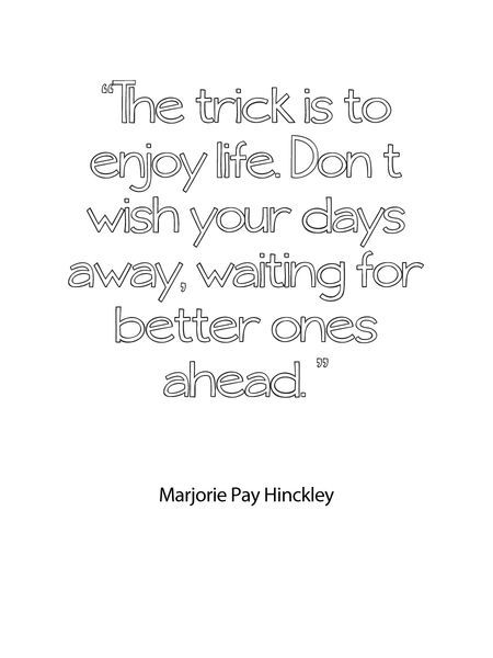 yep.: Hinckley Quote, Confirm Quote, Enjoy Today, Life Awesome, Life Repin By Pinterest, Enjoy Life, Awesome Pin, Enjoying Life Repin, Kinckley Quote