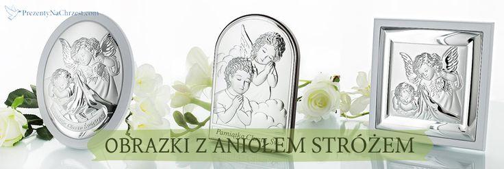 Obrazki z wizerunkiem Anioła Stróża z grawerem dedykacji stanowią piękną pamiątkę dla dziecka na chrzest święty.  http://bit.ly/1FeR3VO