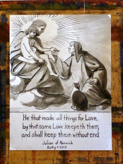 julian of norwich quotes | Kittredge Cherry's Blog - Julian of Norwich: Celebrating Mother Jesus ...