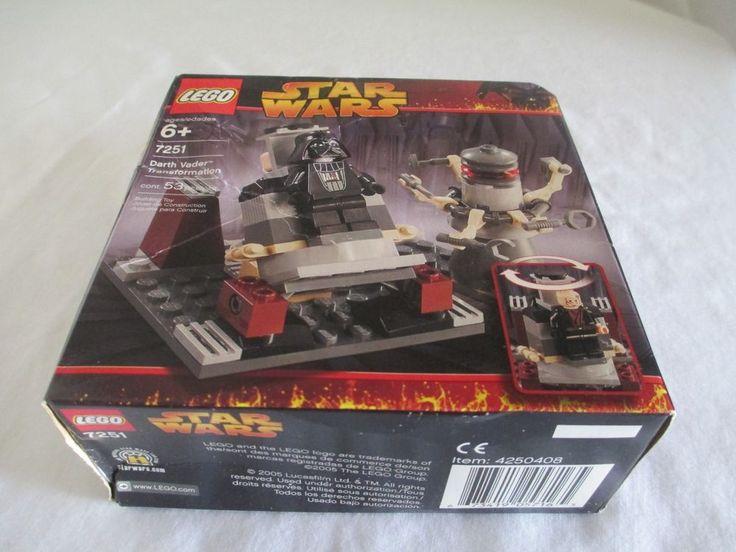 LEGO Star Wars Darth Vader Transformation (7251) #LEGO