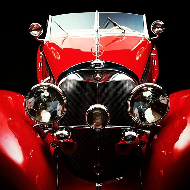 Mercedes-Benz broke 2 auctioning world records when the MB 540 K Special Roadster was sold at Pebble Beach in 2012