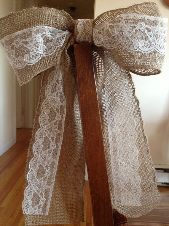 Hey, I found this really awesome Etsy listing at http://www.etsy.com/listing/154558418/burlap-lace-bow