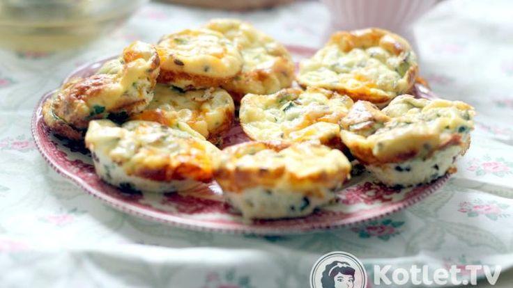 Śniadaniowe babeczki warzywne