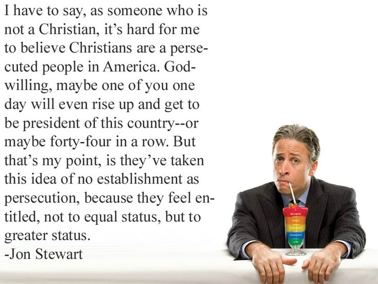 Jon Stewart on entitlement