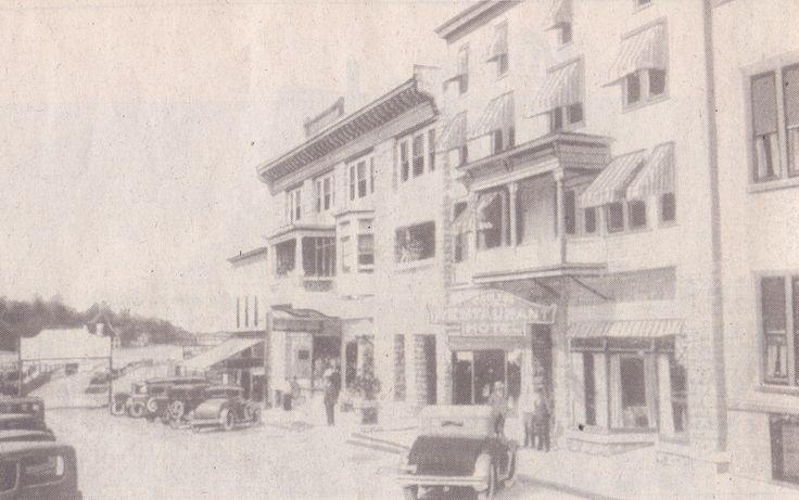 The Carlton Hotel on upper James Street in Alexandria Bay.