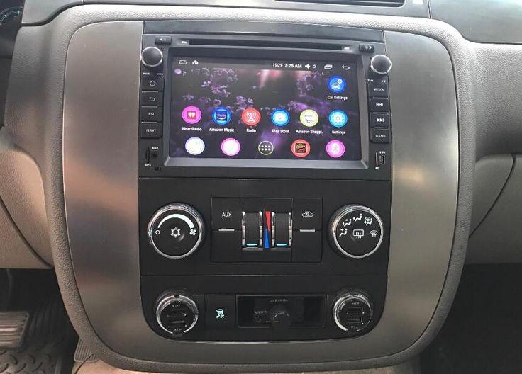 Joying Chevrolet head unit installed on #Chevy #Silverado 2013