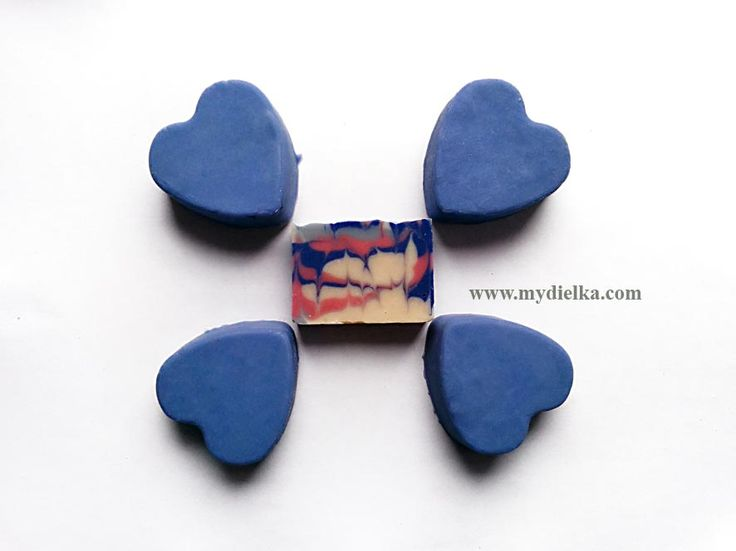 Lavender hearts and flower rectangle