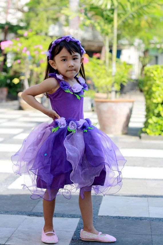 Purple Fairy Dress Violet purple Fairy costume by DearMimiDress