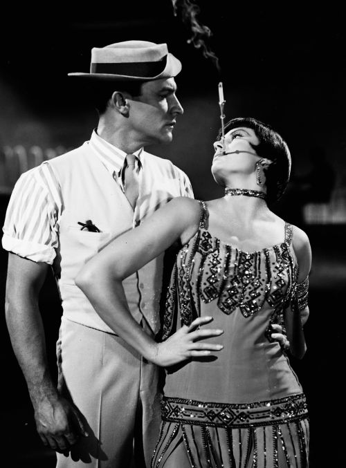 Gene Kelly and Cyd Charisse in Singin' in the Rain