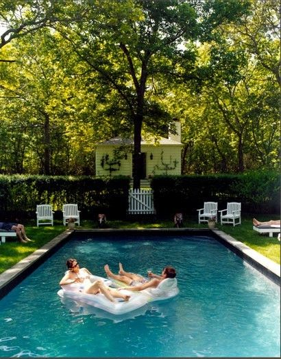 I like the hedge around the pool idea. This doesn't link to anything