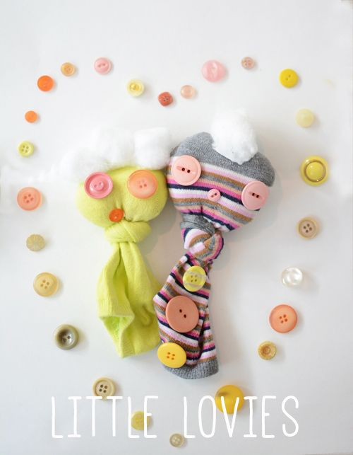 Little Lovie Sock Puppets   MeriCherry