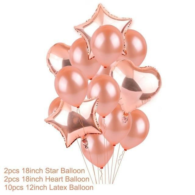 Ballons & Accessories 10pcs 18inch Round Printed Boy Girls Birthday Helium Foil Balloons Happy Birthday Balloon Party Decoration Kids Toy Decoration