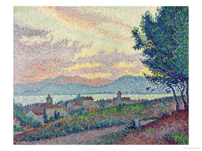 St. Tropez, Pinewood, 1896 Giclee Print by Paul Signac - at AllPosters.com.au
