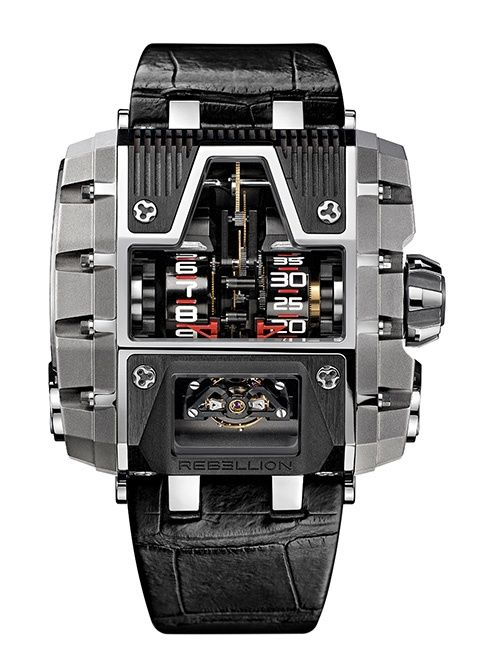 The Rebellion Limited Edition Timepieces Exotic Rebellion Batman | Watches ~ Horology ⌚️ | Pinterest | Watches, Watches for men and Cool watches