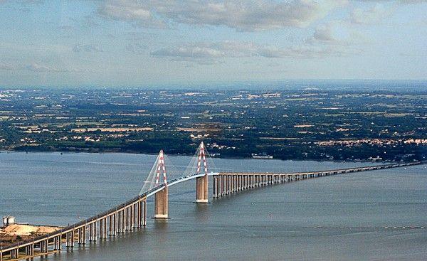 Le pont de Saint Nazaire - France