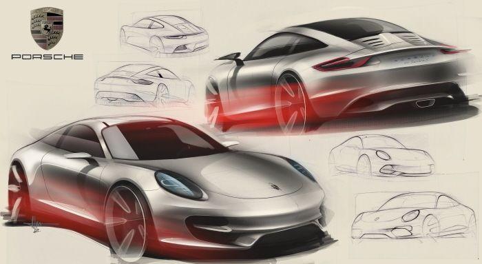 Sketches by Alan Derosier at Coroflot.com