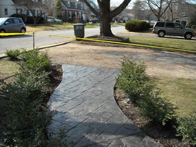 Stamped Concrete Pavement : Best ideas about concrete paving on pinterest