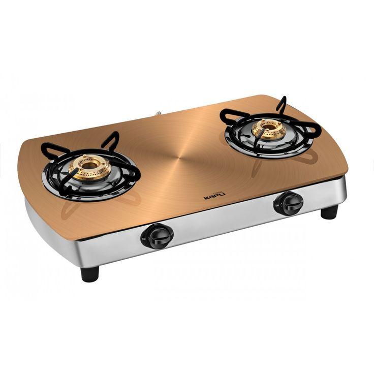 coral 2 burner glass top metallica gas stove copper normal