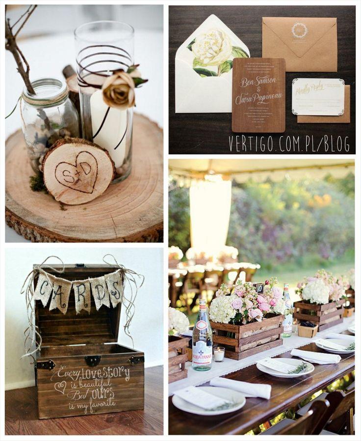 WOODEN WEDDING DECORATION, WOODEN WEDDING IDEAS, WOODEN WEDDING RINGS, WOODEN WEDDING TABLE DECORATION, Trend 2015 – WOOD | Vertigo - Dekoracje i dodatki ślubne, source: http://www.vertigo.com.pl/trend-2015-wood/