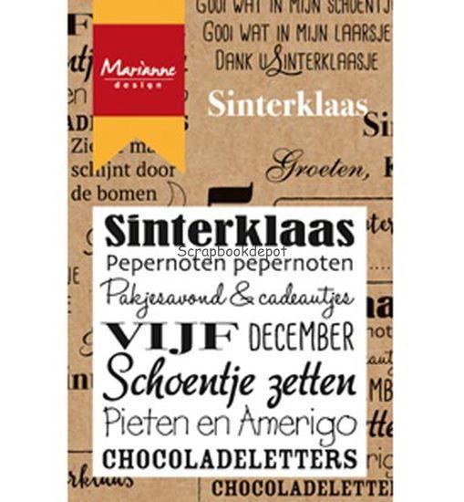 Marianne Design Clear Stamp - Sinterklaas