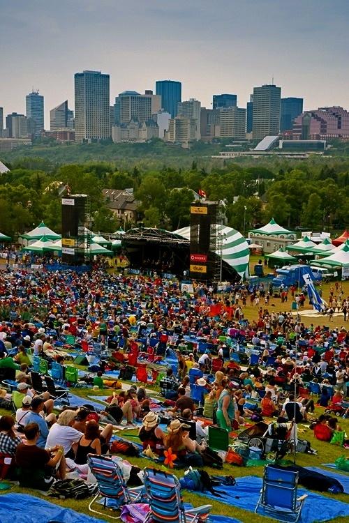 Edmonton Folk Festival #GILoveAlberta