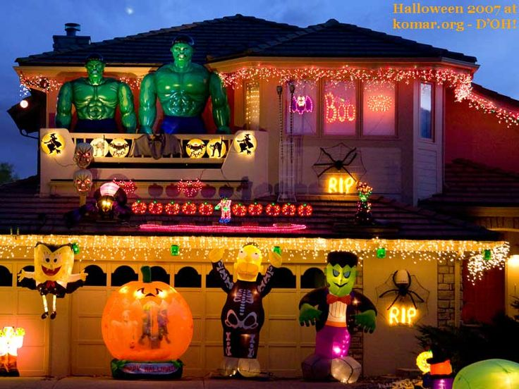 Haunted fun house decorations