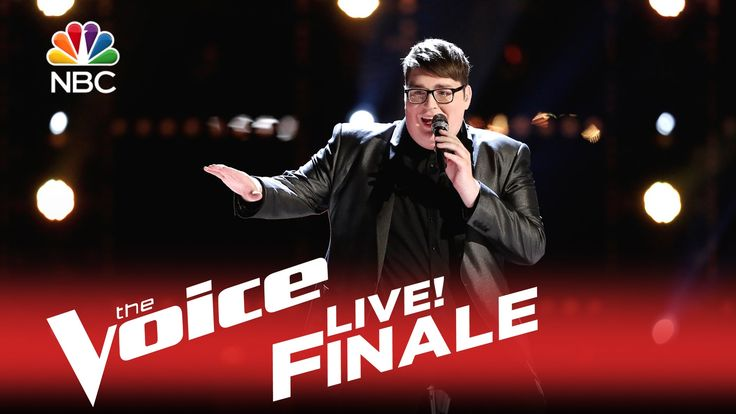 """The Voice 2015 Jordan Smith - Finale: """"Mary, Did You Know"""" He did amazing on this song."""