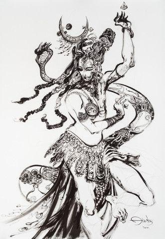 Ardhanarishawara: The Androgynous Universe