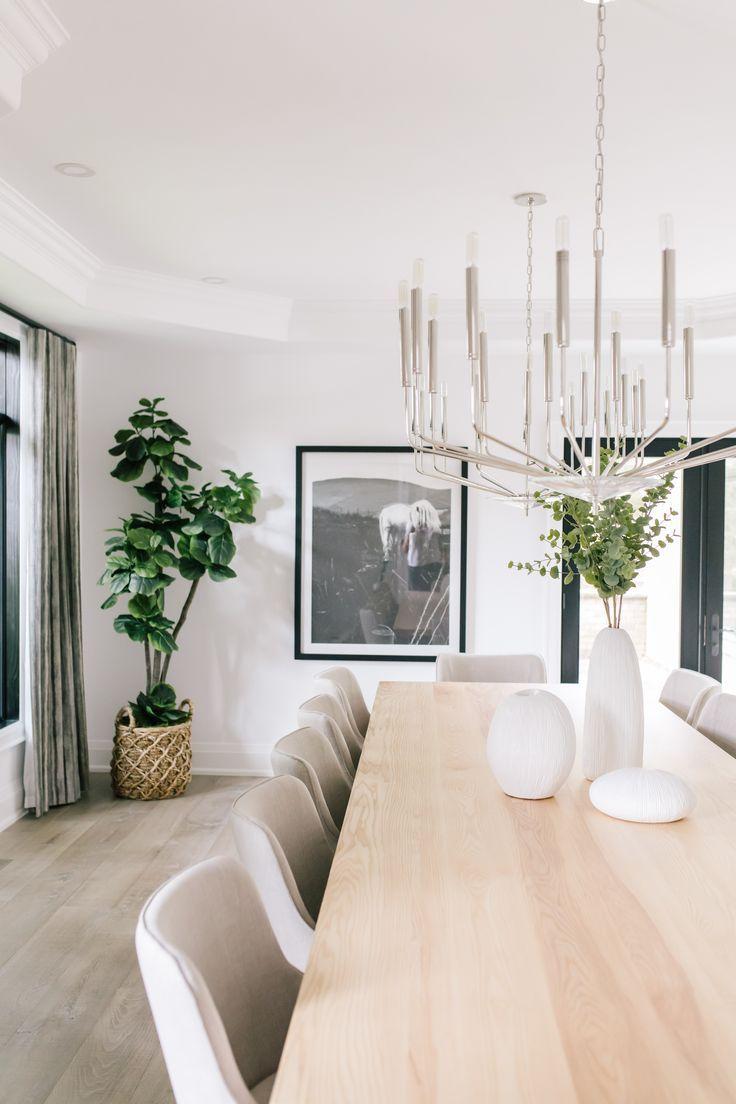 Interior Designer Karin Bennett Designs Dining Room Design Modern Dining Room Decor Modern Modern Dining Room