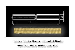 Brass Studs Brass Threaded Rods Full threaded Studs DIN 975  #BrassStuds #BrassThreadedRods #FullthreadedStudsDIN975 We rae one of the largets manufacturers suppliers exporters form jamnagar Gujarat india of all types of #Brassstuds  #Brassmetricstuds  #threadedrods #1meterthreadedrods Studs in Brass  Copper and Stainless steel material. Our Brass Studding  Copper Studding Copper transfomer studs are exported throughtout the globe.