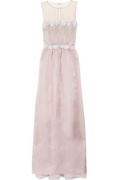 Valentino dress, $7580, from www.net-a-porter.com.
