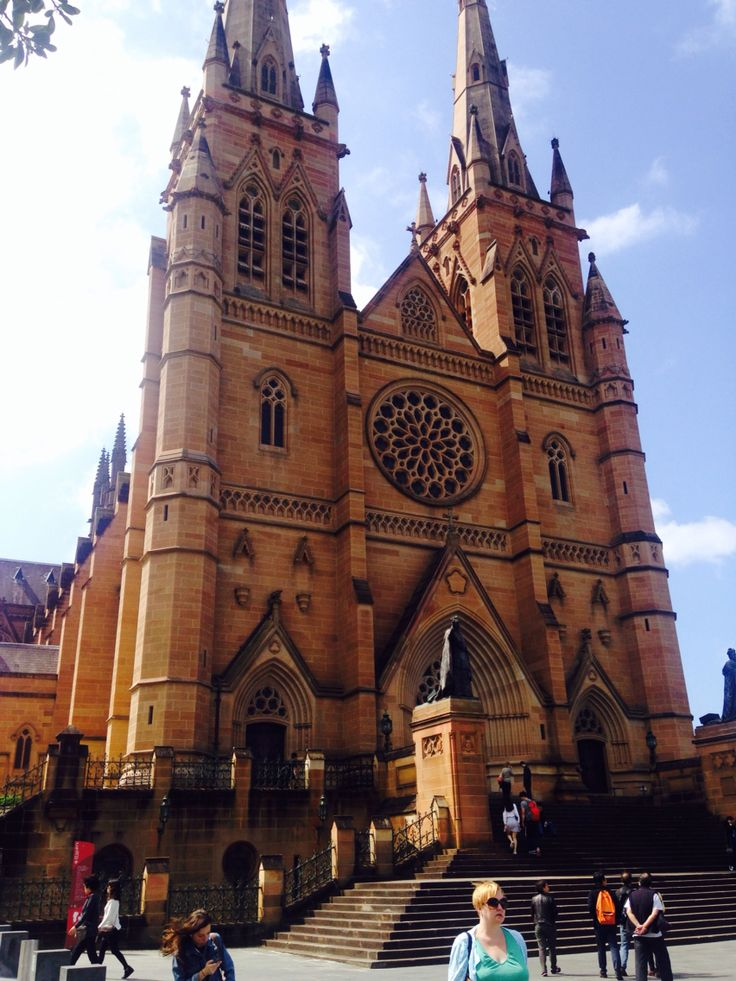 Hyde Park Cathedral #Sydney #cathedral #beautiful #Australia