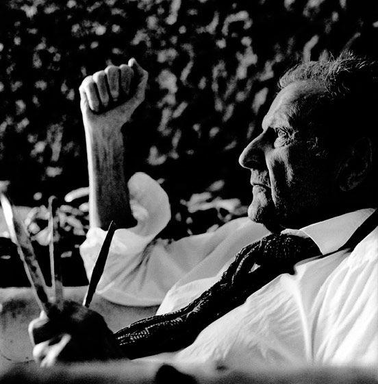 Lucien Freud (tatt av Anton Corbijn)