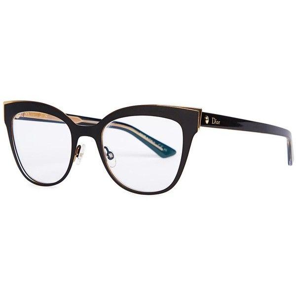 Glasses Frames Christian Dior : Womens Optical Christian Dior Montaigne 11 Black Optical ...