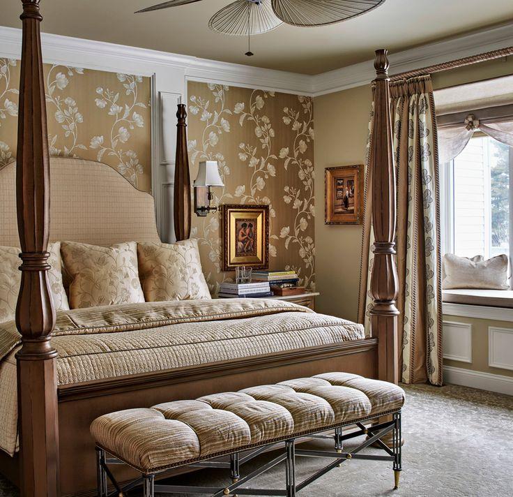 Beautiful Traditional Bedroom, Cozy